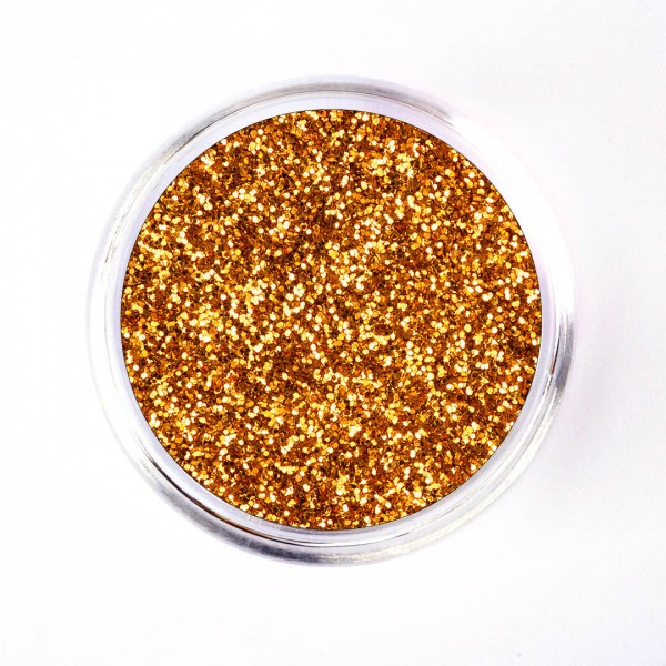 SiLiglit Grade II Polyesterglitter Rotgold