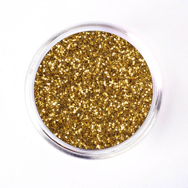 SiLiglit Grade I Polyesterglitter Gold